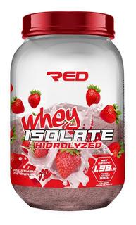 Isolate Whey Isolado 900g Red Series Morango