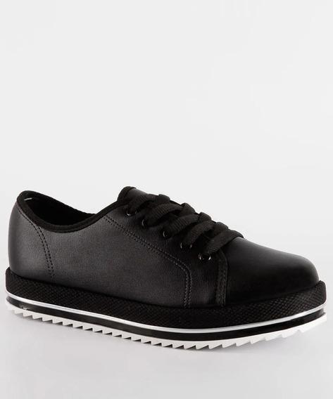 Sapato Feminino Oxford Flatform Tratorado Beira Rio 4196303