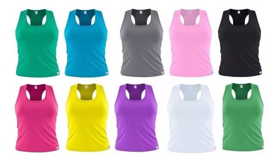 Kit 10 Peças,regata,blusa,nadadora,feminina,camisa,camiseta.