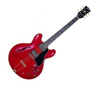 Es166sr Tokai Guitarra Electrica Tipo 335 Roja Japon