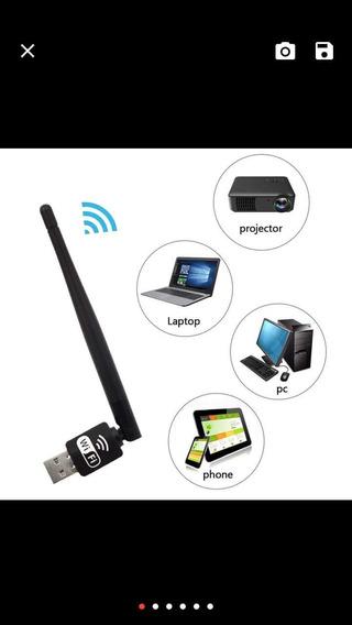 Besegad Lan Sem Fio 150 Mbps 3db Antena Usb Wifi Receptor Ad