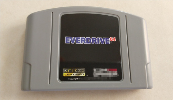 Everdrive Ed64 Original Krikzz 2.5 Pega Nes N64 Sem Juros