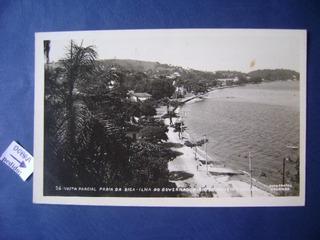 Cartao Postal-praia Da Bica,ilha Do Governador/rj No Estado