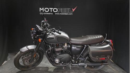 Imagen 1 de 11 de Motofeel Cdmx - Triumph Boneville T120 Black @motofeelmx
