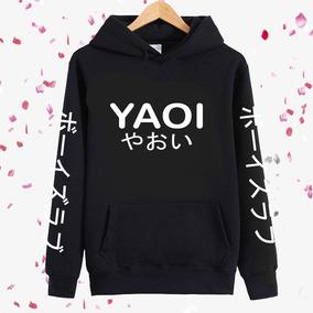 Sudadera Capucha Yaoi Letras Japonesas Envio Gratis