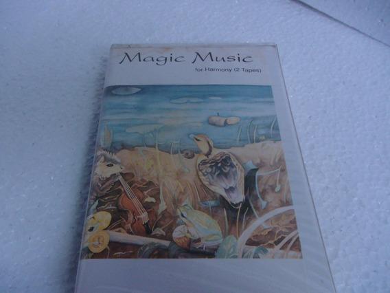 Case Com 4 Fitas Cassettes Para Meditação E Harmonia