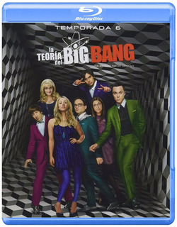 La Teoria Del Big Bang Sexta Temporada 6 Serie Blu-ray