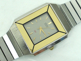 Relógio Seiko Social Y481 Vidro Espelhado - Lorus Aka Alba