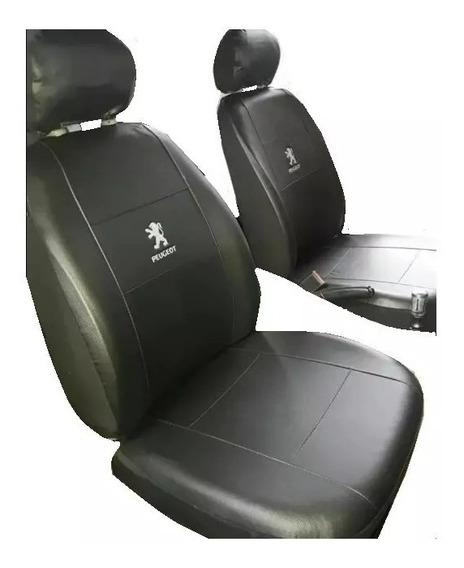Funda Cubre Asiento Peugeot 206 207 308 408 Cuero Ecologico