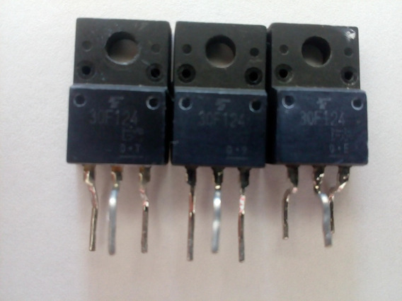 Kit 30 Unidades Transistor Fet 30f124