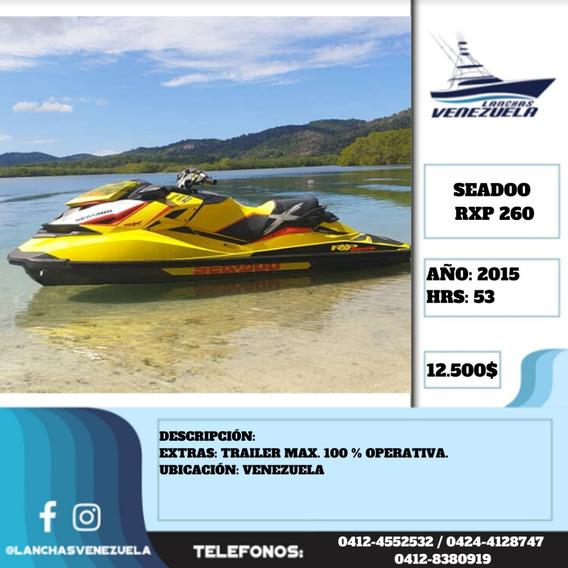 Moto Seadoo Rxp 260 Lv495