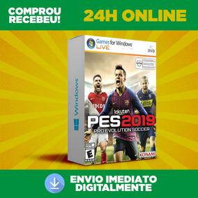 Pes 2019 Pc + Pro Evolution Soccer 2019 Envio Na Hora 24h