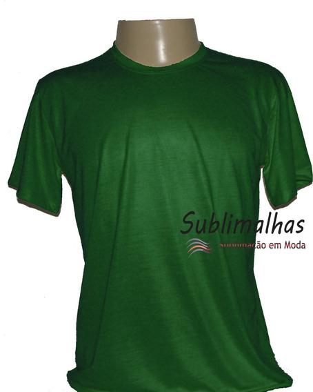15 Camisas Para Sublimação Cores Escuras - 100% Poliéster