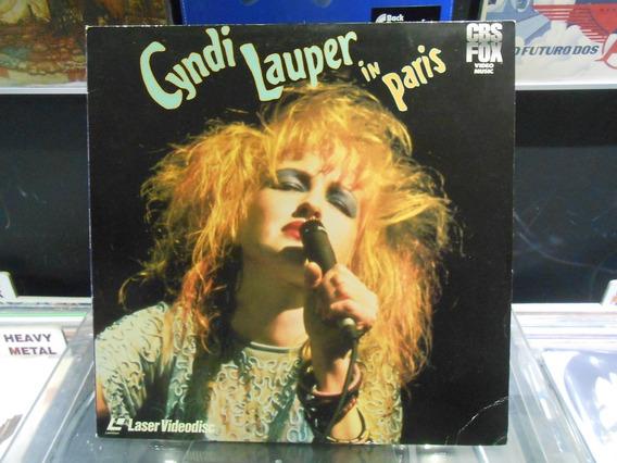 Ld Cyndi Lauper In Paris