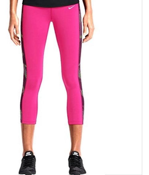 Calza Legging Nike Capri Mujer Xs