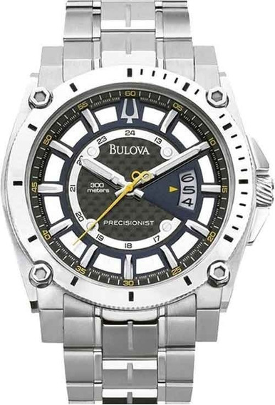 Relógio Bulova Precisionist Wr 300 - Ref: Wb31014a Masculino