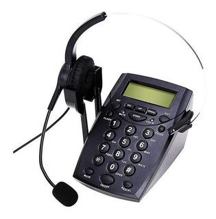 Teléfono Call Center Headset Manos Libre Cabezal Noga Nt200d