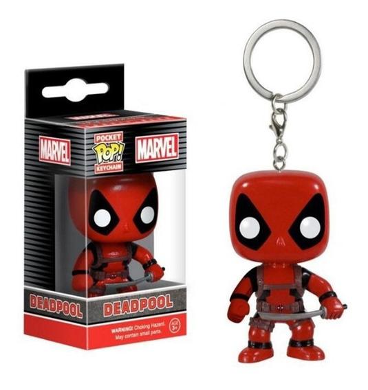 Funko Pop Pocket Deadpool Chaveiro Marvel Boneco Ação Figure