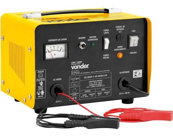 Carregador De Bateria 12v Cbv 1600 220v Vonder