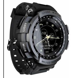 Inteligente Relógio Lokmat Mk28 Impermeável Bt4.0 Preto