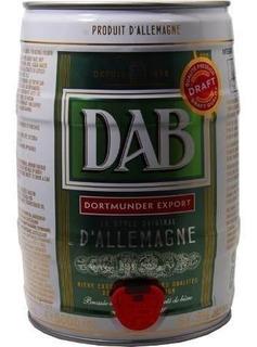 Barril Cerveza Dab 5 Lts. Origen Alemania. Cerveza Importada