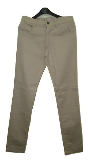 Pantalón Jean De Vestir Hombre Elastizado Talle 40 Battaglia
