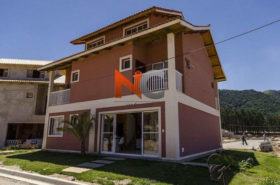 Casa De Condomínio Com 3 Dorms, Centro, Mangaratiba, 118m² - Codigo: 32 - V32