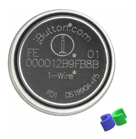 50pç - I-button Ds1990a-f5 *botão Para Bastão Vigia (ronda)
