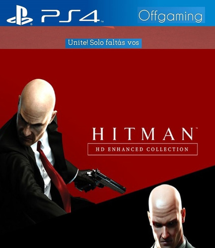 Hitman Hd Enhanced Collection Ps4 Digital 1º Full Espanol Mercado Libre
