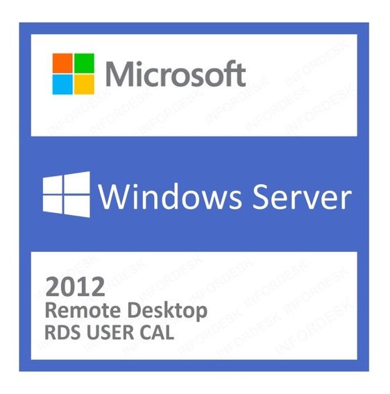 5 Cal Acesso Remoto Rds/ts Windows Server 2012 R2 User/devic