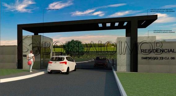 Park Way - Excelente Fração Em Condomínio De Alto Padrão Com Casas Modernas E Novas. Aceita Permuta. - Villa120201