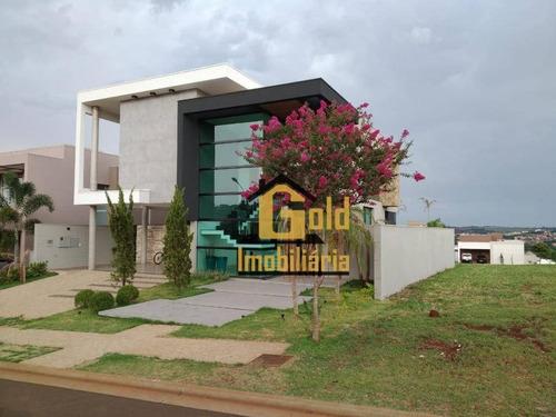 Casa Com 3 Dormitórios À Venda, 290 M² Por R$ 1.490.000 - Bonfim Paulista - Ribeirão Preto/sp - Ca0883