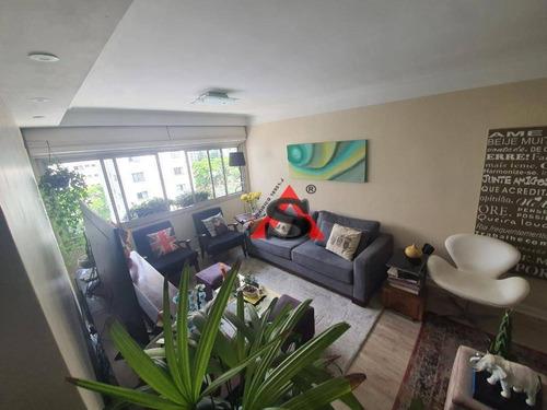 Imagem 1 de 22 de Apartamento Com 3 Dormitórios À Venda, 130 M² Por R$ 1.280.000,00 - Campo Belo - São Paulo/sp - Ap43397