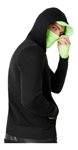 Chamarra Oakley Fz Ninja Hoodie Sudadera Cubrebocas Running