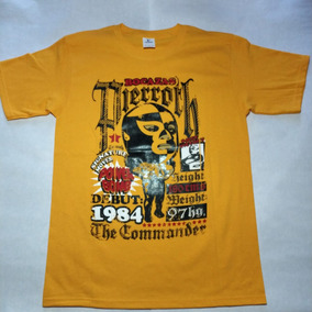 Playera Luchador Pierroth, The Commander, Lucha Mexicana