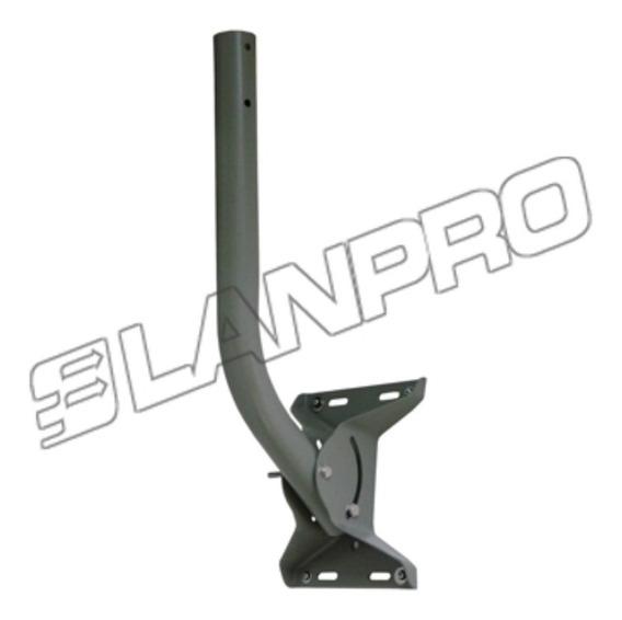 Base Lanpro P/ Antenas Wifi Directv Cctv 90 Grados Acero1,5