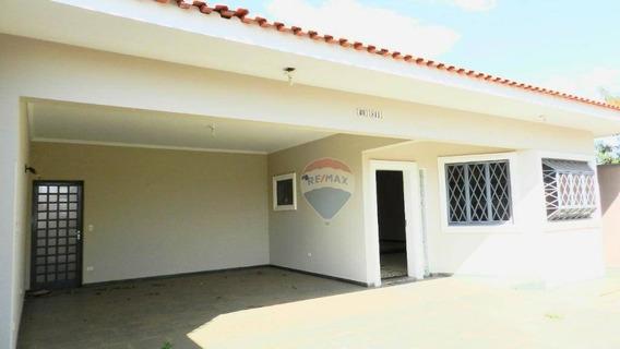 Casa Para Locação Em Americana/sp Com 4 Dormitórios Sendo 3 Suítes - Ca0275