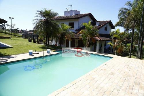 Casa À Venda, 450 M² Por R$ 1.390.000,00 - Ville Chamonix - Itatiba/sp - Ca0640