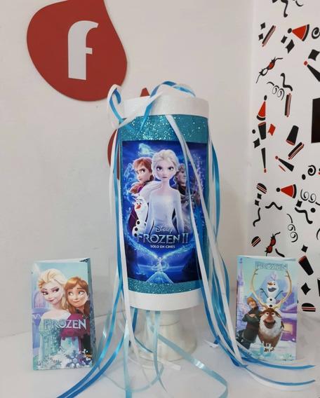 Piñata Tubo Frozen Disney Reina Elsa - Fiestissima Liniers