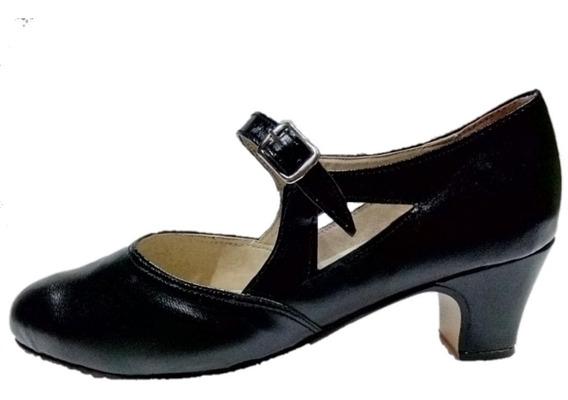 Zapatos De Danza - Jazz, Español Y Folclore.cuero Ecológico