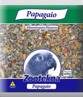 Mistura De Sementes E Frutas Para Papagaio - 400 G