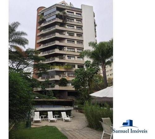 Imagem 1 de 17 de Apartamento Com 4 Dormitórios À Venda, 420 M² Por R$ 4.300.000,00 - Indianópolis - São Paulo/sp - Ap3716