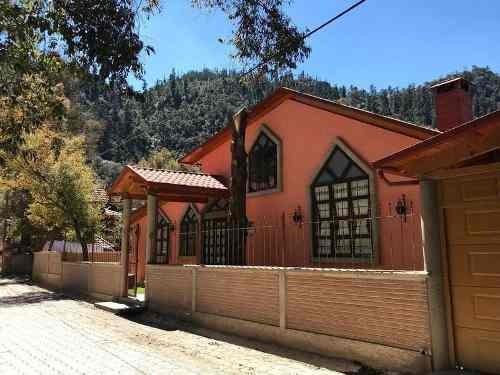 Preciosa Cabaña En El Chico Hidalgo
