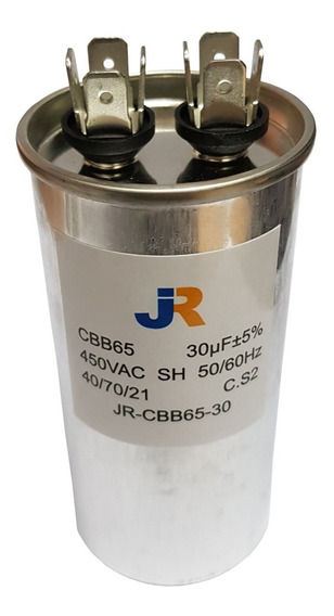 Capacitor De Marcha 30uf 450v 50/60hz Jr