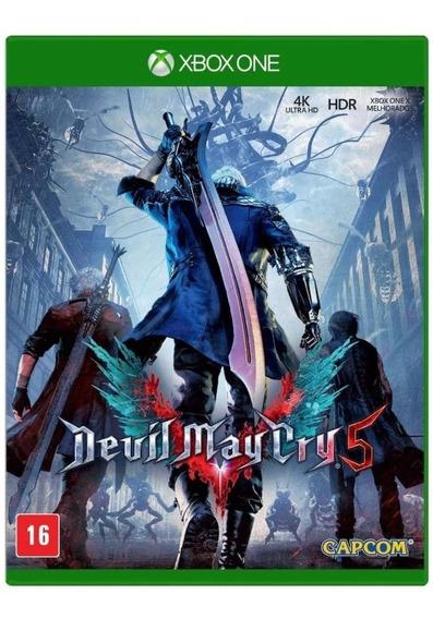 Devil May Cry 5 Xbox One Midia Fisica - Novo - Lacrado Dmc 5
