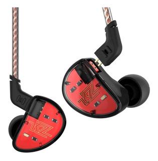 Audífonos Kz As10 Originales Monitor Alta Fidelidad S/microf
