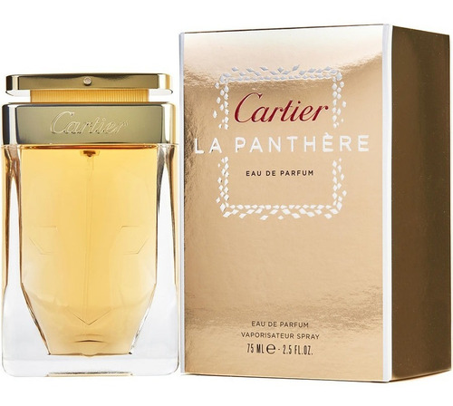 La Panthere Cartier Eau Parfum 75 Ml - L a $2652