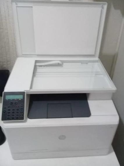 Impressora E Copiadora Hp Colorida Pro M180 Com Wi-fi Semino