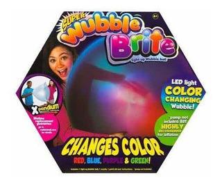 Súper Wubble Brite Change Color Pelota Gigante