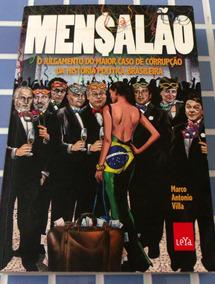 Livro Mensalao Marco Antonio Villa Usado Em Bom Estado Veja